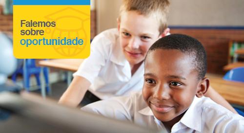 A tecnologia educacional cria oportunidades
