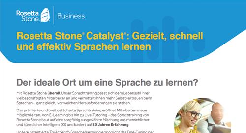 Catalyst Produkt-Übersicht