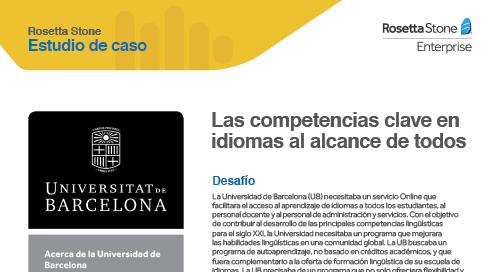 [Caso de éxito] University of Barcelona