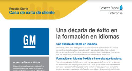 GM - Caso de éxito de cliente