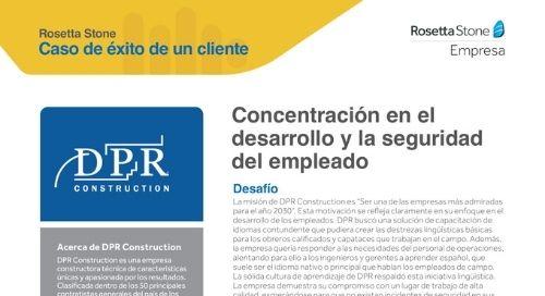 DPR - Caso de éxito de un cliente