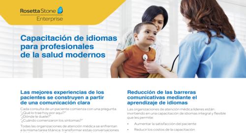 Formación en idiomas para los modernos profesionales del sector de la salud