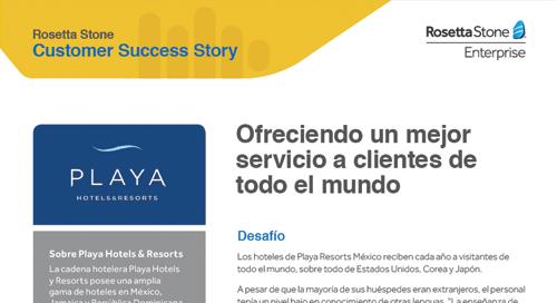 Ofreciendo un mejor servicio a clientes de todo el mundo
