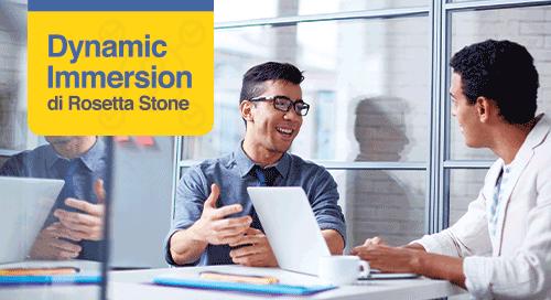Dynamic Immersion di Rosetta Stone