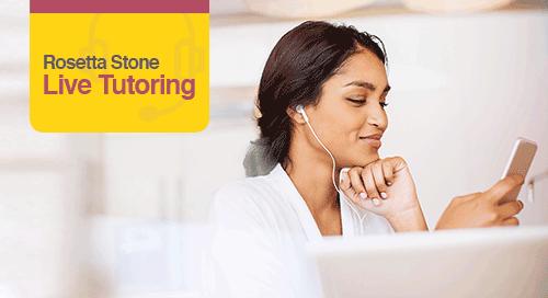 Rosetta Stone Live Tutoring