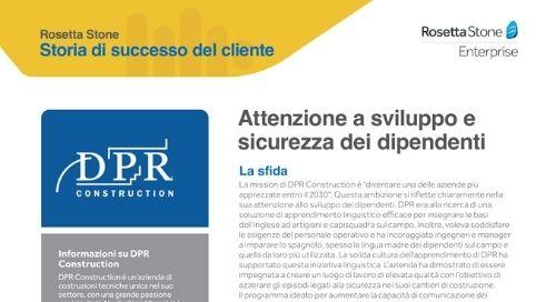 DPR - Storia di successo del cliente