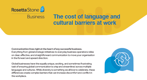 Are language barriers costing your business?