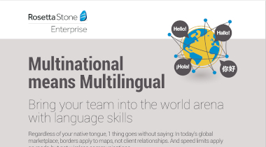Multinational Means Multilingual