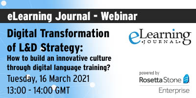 Digital Transformation of L&D Strategy: How to build an innovative culture through digital language training?