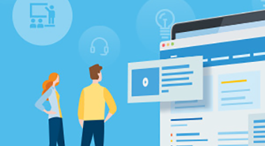 zwei E-Learning-Unternehmen