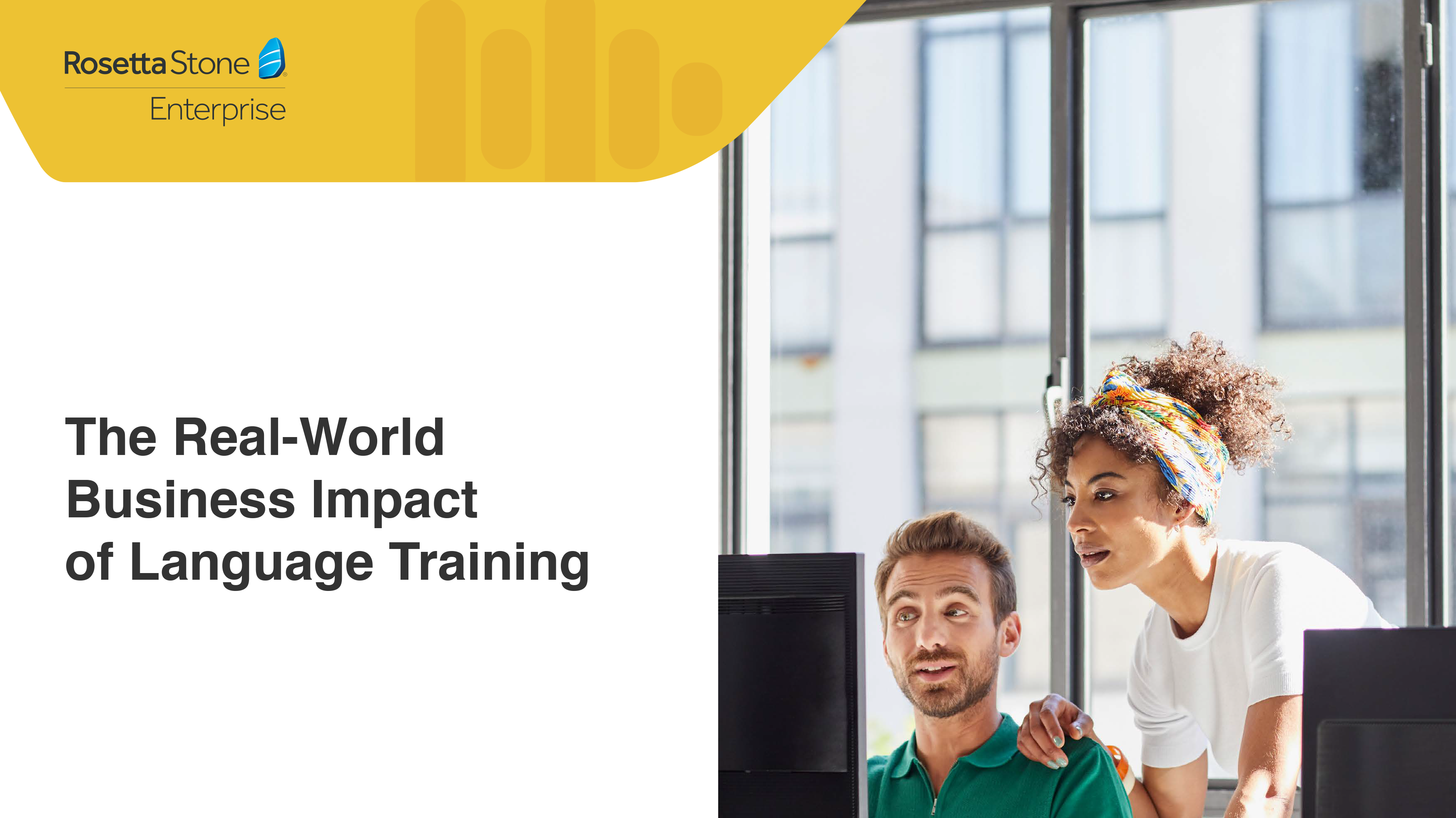 [eBook] The real-world business impact of language training
