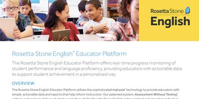 Educator Platform Data Sheet